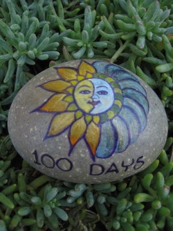 100-day rock